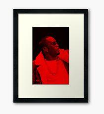 Diddy - Celebrity Framed Print