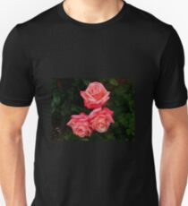 Blushing Rose Beauties Unisex T-Shirt