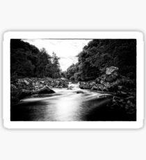River Feugh, Banchory, Aberdeenshire Sticker