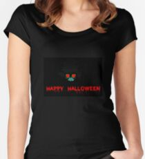 Happy Halloween Women's Fitted Scoop T-Shirt