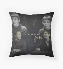Fred and George Throw Pillow