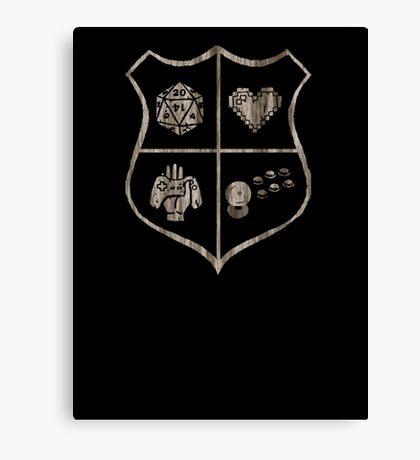 Nerd Crest Canvas Print