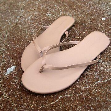Tan Flip Flops by MagnumCreative