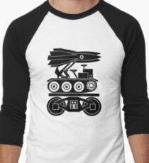 WAR BY RAIL Men's Baseball ¾ T-Shirt