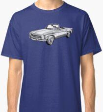 Mercedes Benz 280 SL Convertible Illustration Classic T-Shirt