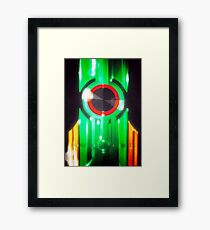 Transistor Framed Print