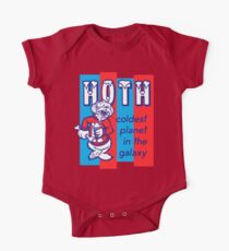 Coldest In The Galaxy - HOTH ICEE One Piece - Short Sleeve