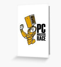 PC Master Race Greeting Card