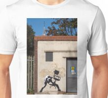 Office Rage by Banksy Unisex T-Shirt
