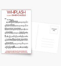 Whiplash! Score Postcards