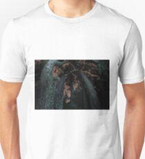 Round Trees at Night Unisex T-Shirt