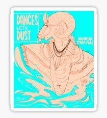 dances with dust - 2 (skyrim) Sticker
