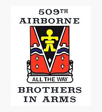 509th Airborne - Brothers in Arms Photographic Print