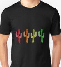 Cacti Rainbow 1 Unisex T-Shirt