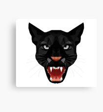 Katze Leopard Puma / Panther Gesicht Canvas Print