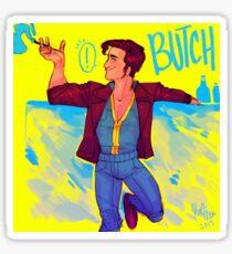 Butch DeLoria! Sticker
