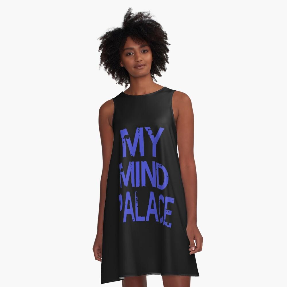 MY MIND PALACE A-Line Dress Front