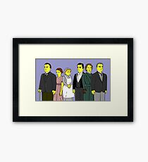 Downton Abbey - Downstairs Six Framed Print