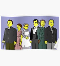 Downton Abbey - Downstairs Six Poster
