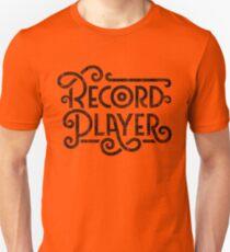 Record Player Mono Unisex T-Shirt