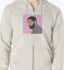 Drake Zipped Hoodie