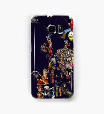 Renaissance Europe National Personification Map Samsung Galaxy Case/Skin