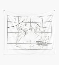 Rei Ayanami Sample0001 Wall Tapestry