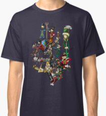 Renaissace Eastern Europe National Personifications Map Classic T-Shirt