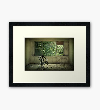 Lose Your Delusions Framed Print