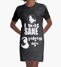 3 pidgeys ago Graphic T-Shirt Dress