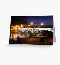 Bridge of Triana Greeting Card