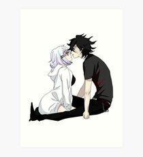 Anime Couple Art Print