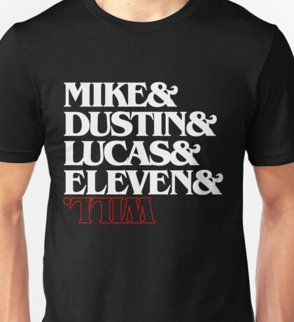 Stranger Things (characters) Unisex T-Shirt