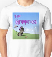 Classic Grimerica Logo  Slim Fit T-Shirt