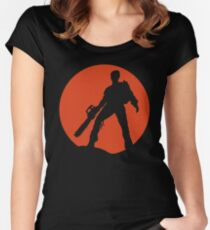 Ash vs The Evil Dead Women's Fitted Scoop T-Shirt