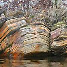 Granite Rock Formations, Granite Lake, Sask. Canada by MaeBelle
