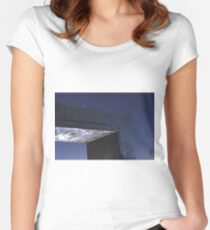 Stars and Corners Fitted Scoop T-Shirt