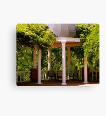 Under a Canopy of Green     ^ Canvas Print