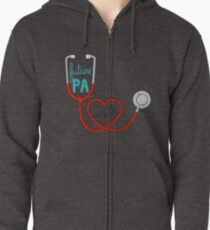 Future PA ( Physician Assistant ) Zipped Hoodie