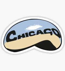 Chicago Bean Sticker