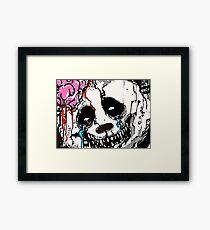 Misfit Panda Framed Print