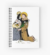 ST. ANTHONY OF PADUA Spiral Notebook
