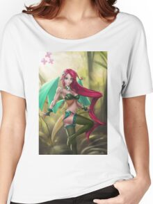 Pin-up MLP Fluttershy Women's Relaxed Fit T-Shirt