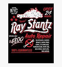 Ray Stantz Auto Repair Photographic Print
