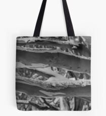 Snow branches Tote Bag