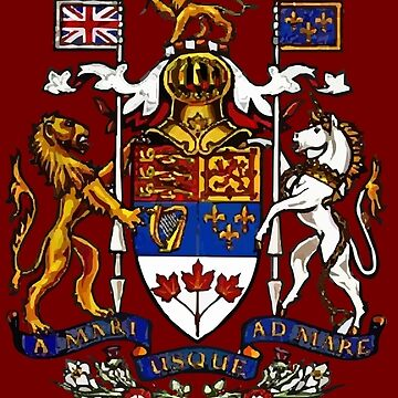 Coat of Arms of Canada by Bon3h3ad1