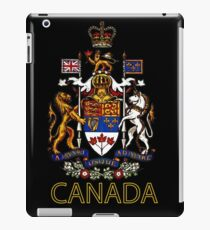 Coat of Arms of Canada iPad Case/Skin
