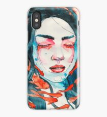 Only here for a minute iPhone Case