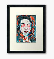 Only here for a minute Framed Print