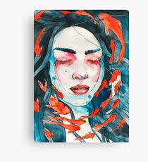 Only here for a minute Canvas Print